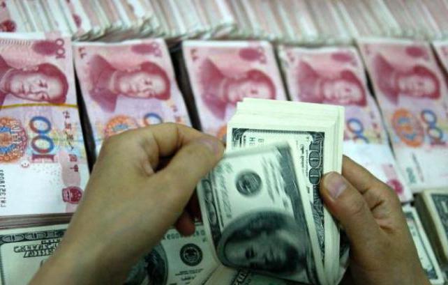 dollaro yuan