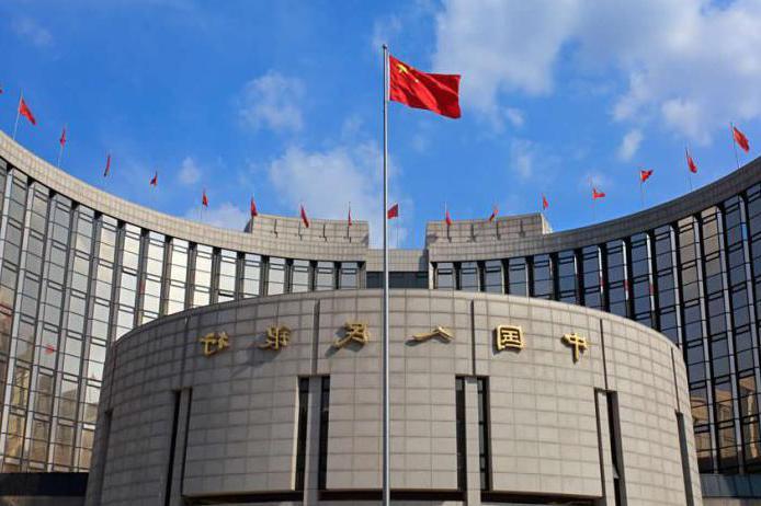 banca centrale della Cina