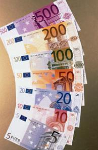banconote in euro
