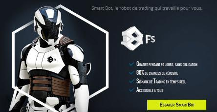robot per il trading finanziario smartbot